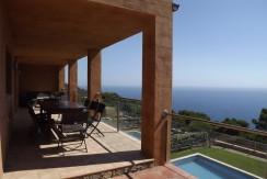 Maison mitoyenne avec vue mer spectaculaire