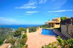Maison avec vue mer près de Begur