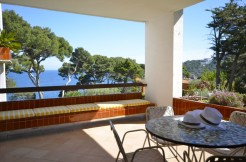 First line apartment in Aiguablava, Begur
