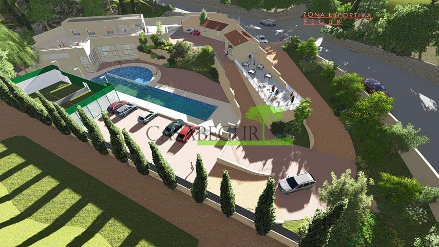 Excellent parcelle pour construire un grand centre sportif à Begur