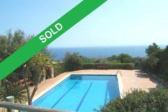 561-Semi detached villa with sea views