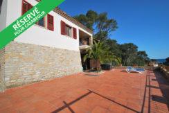 Maison avec appartement,  garage et vue sur la mer à 300 mètres de la plage de Sa Riera
