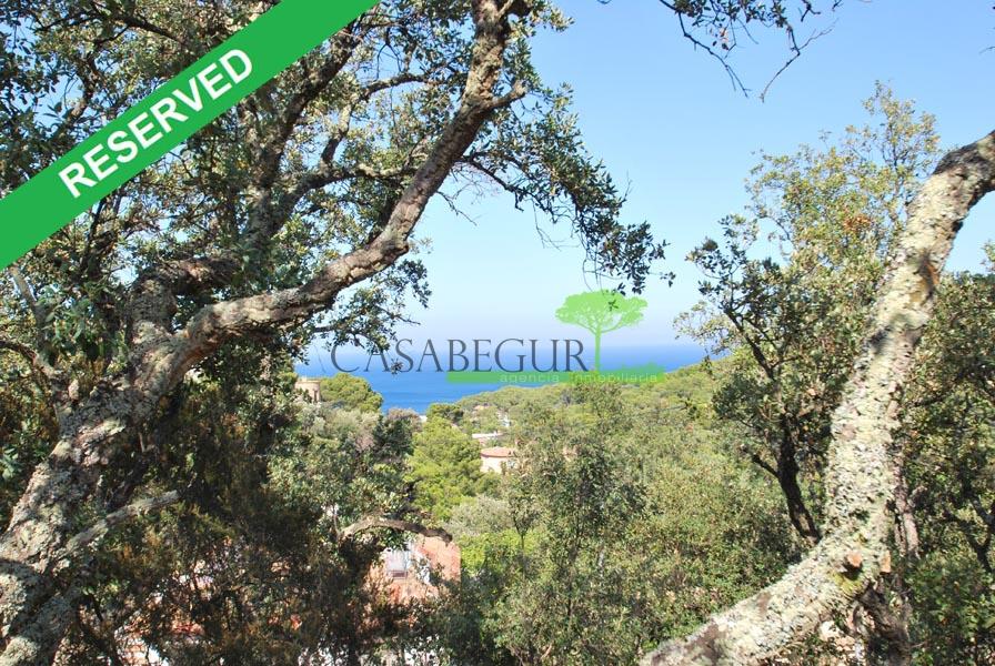 Plot for sale near Sa Riera beach, Begur