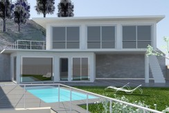 Mooi project voor modern huis in Sa Riera, Begur