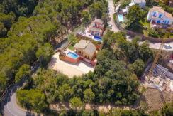 1201- Villa met uitzicht  in Sa Riera, Begur