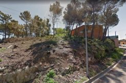 Plot for sale near the center of Begur