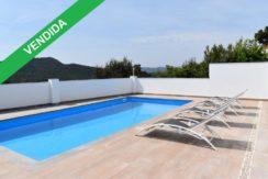 1245- Espléndida casa en zona tranquila con vistas espectaculares