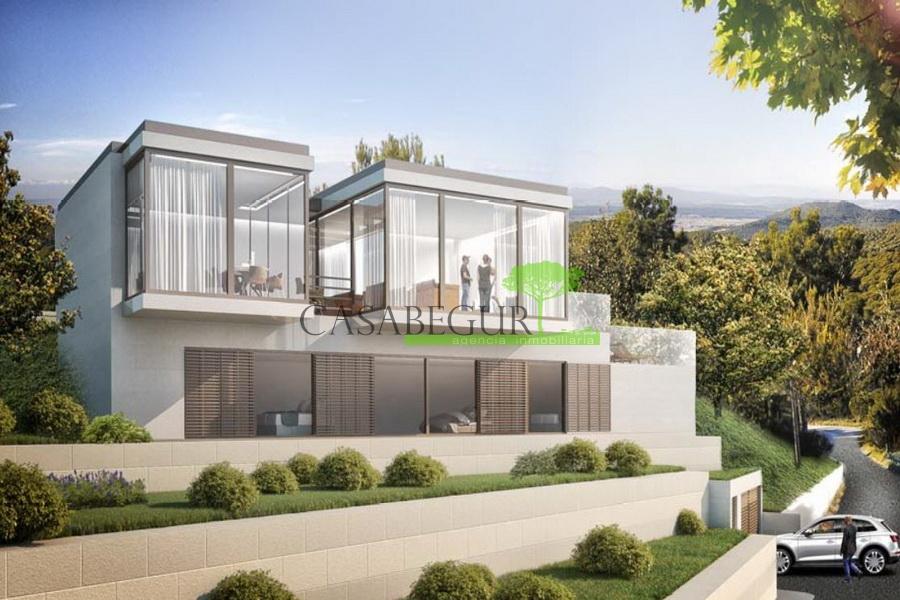1182- Bouwproject voor 2 huizen in de urbanisatie van Son Rich