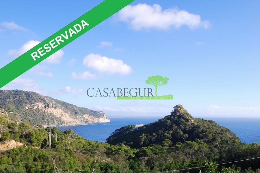 1290 – Terreno edificable con proyecto y licencia de construcción en Aiguablava