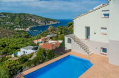 701- Modern house in Aiguablava with fantastic sea views.