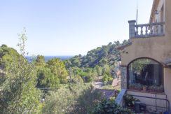 828 – Casa en Cap de Begur con vista al mar.